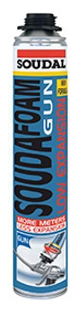 12 x soudafoam  low expansiongun schroefdraad 750 ml