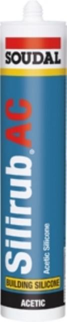 12 x Silirub ac transparant 310 ml