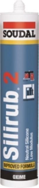 12 x silirub 2 transparant 310 ml