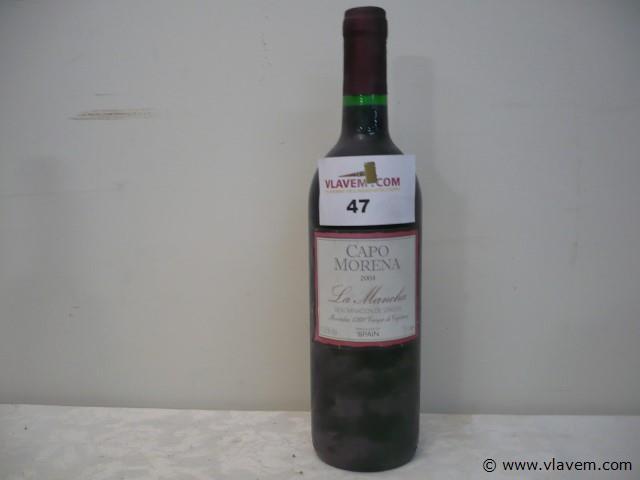 fles wijn