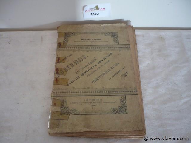 boek Beveren Waes