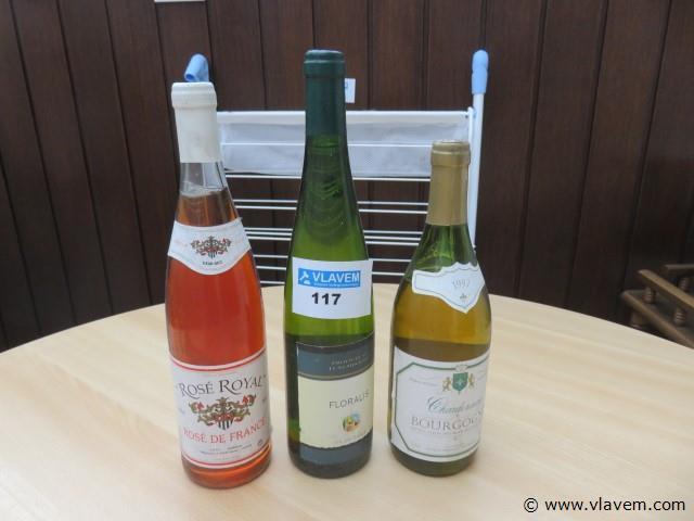 Oude wijnen 3 stuks