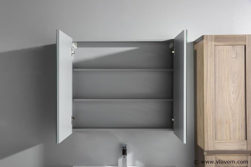 1 st. 80cm Design Spiegelkast