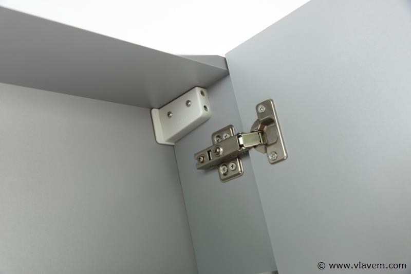 1 st. 120cm Design Spiegelkast