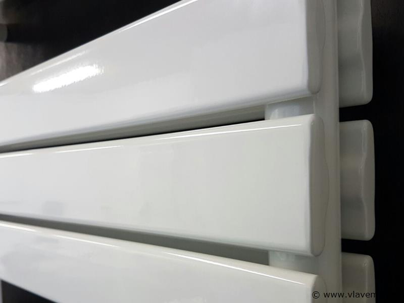 1 st. H1760 x B600 Dubbele design badkamerradiator wit