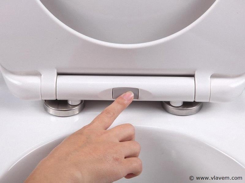 1 st. GEBERIT complete toiletset met wc bril