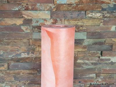 1 st. Oranje waterdichte doek - 30m