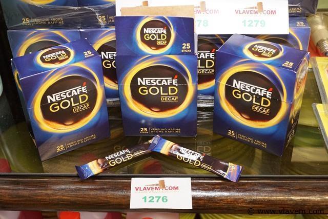 Nescafé gold decafiné