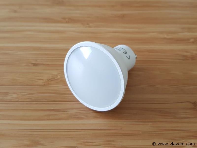 10 st. 6 watt LED Spots GU10 - 4200 K