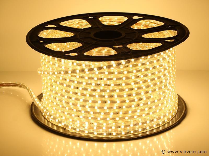1 st. 50 meter waterdicht LED strips - 3000 K