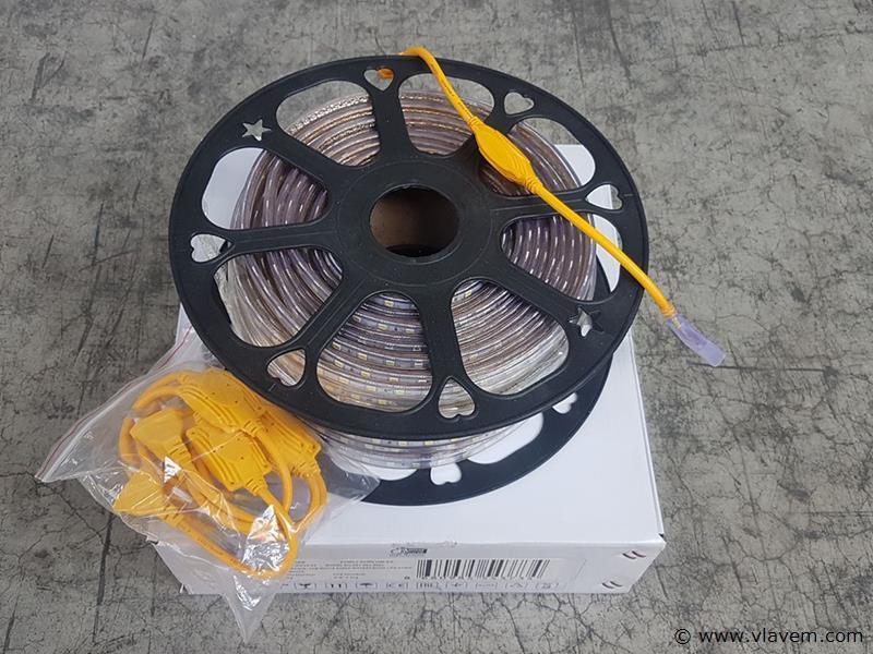 1 st. 50 meter waterdicht LED strips - 6400 K