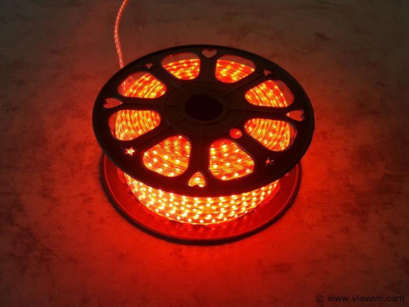 1 st. 50 meter waterdicht LED strips - Rood