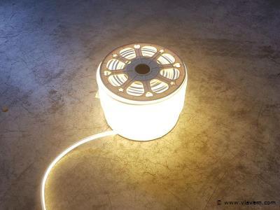 1st. 100 meter neon flex LED 2700K