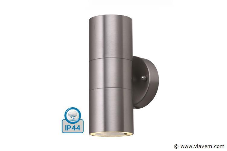 8 st. Mat chroom waterdicht tuinlampen - Warm wit