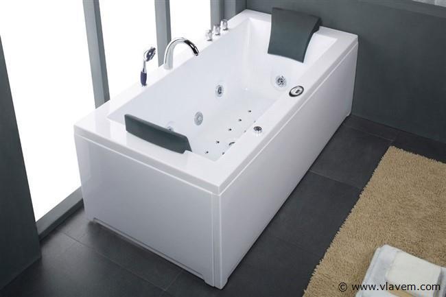 1 Persoons massagebad, 183x90cm.