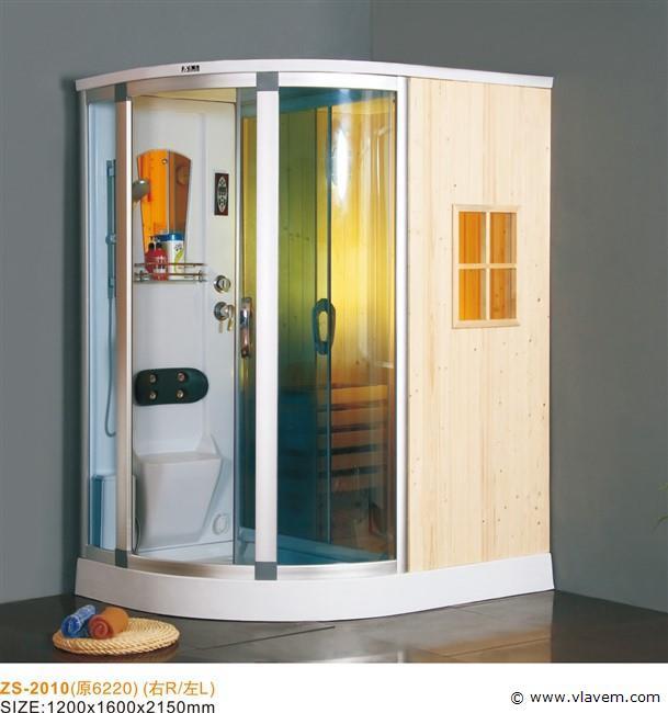 Sauna met Stoomcabine