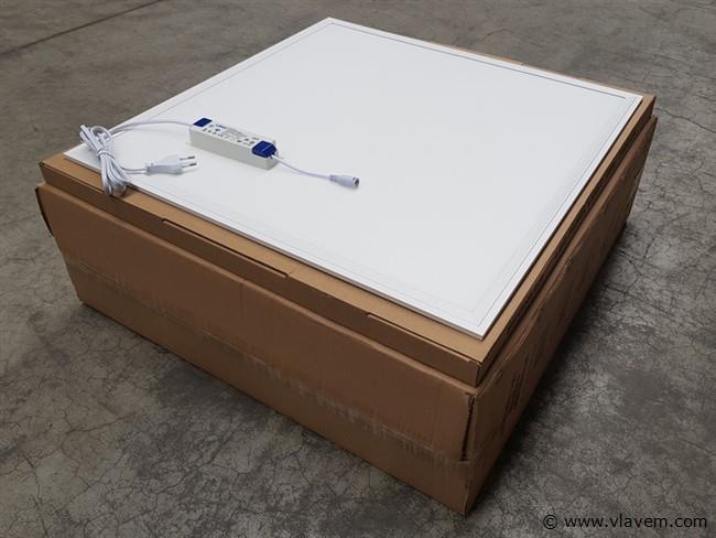 2 st. 40 watt 60x60 LED panelen - Neutraal wit
