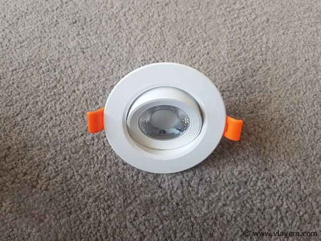 20 st. 5 watt rond led Inbouwspots - Warm wit