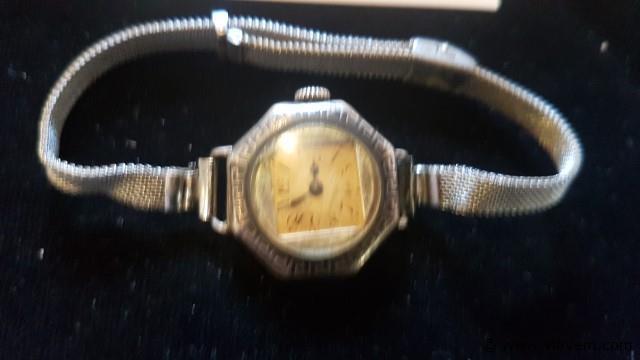 Antieke horloge, werkend