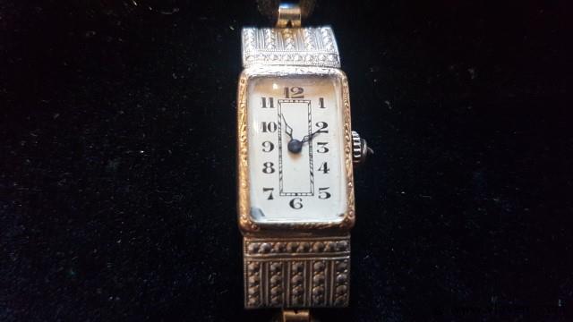 Antieke horloge, niet werkend