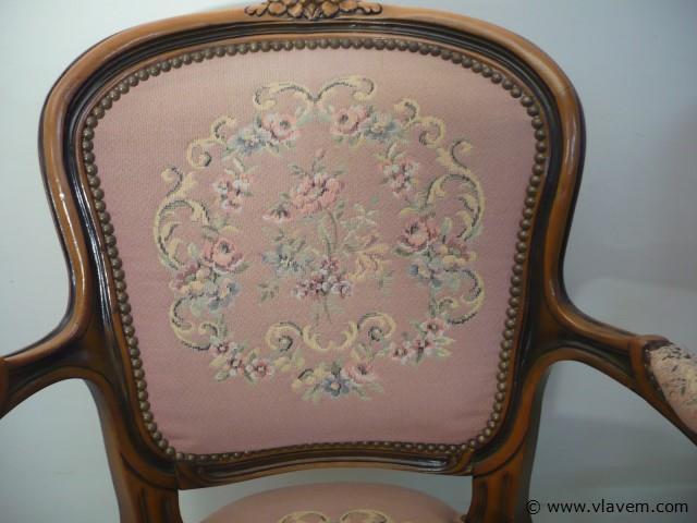2 gobelijn stoelen