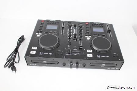 DJ dubbele cd/usb mp3 mixer