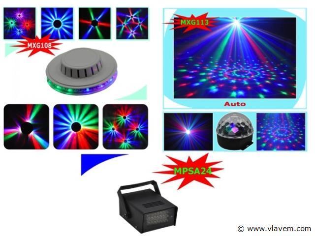 Party led disco set