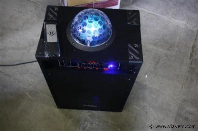 Actieve pa box met led effect