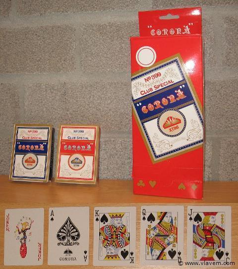 Partij speelkaarten