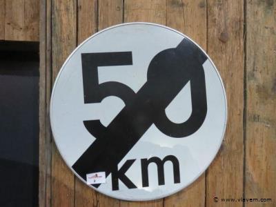 Verkeersbord 70cm