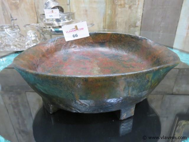 Terracotta fruitschaal 32x27x9cm