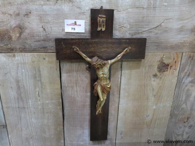 Houten kruis, 33x55cm