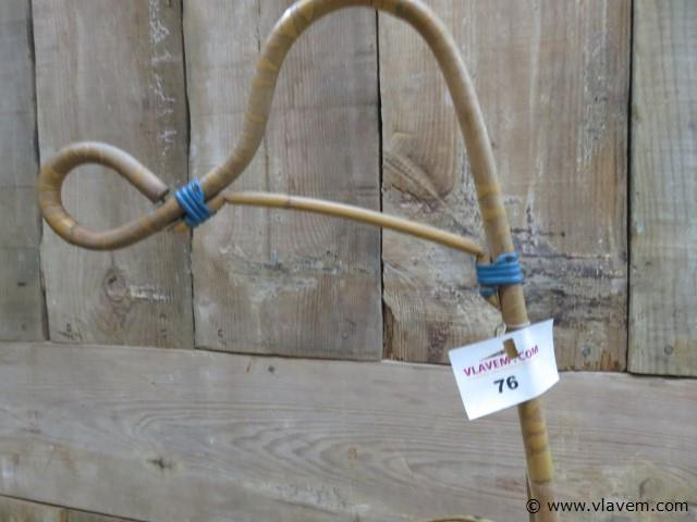 Wieg uit bamboe, 62x37x90cm