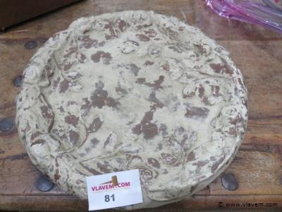 Terracotta fruitschaal diam 42cm h6cm