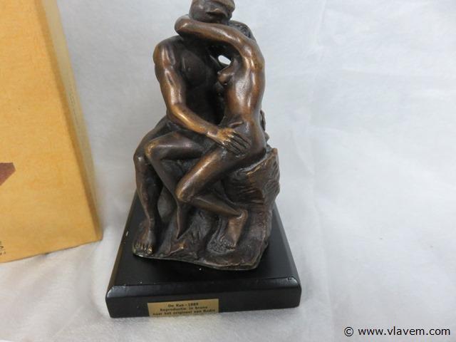 De kus, Rodin, editie Atlas, brons
