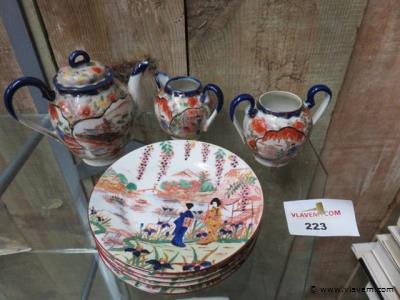 Japans porselein, 8 stuks