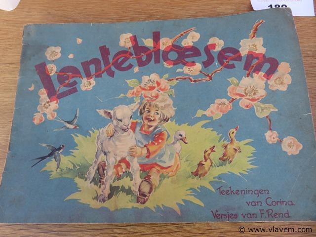 Oude kinderboeken, 2 stuks
