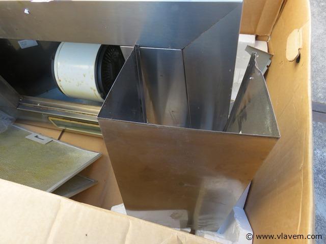 Dampkap inox Ariston, 90x50x30cm