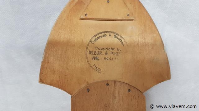 Kapstok Tiel-Holland uit hout