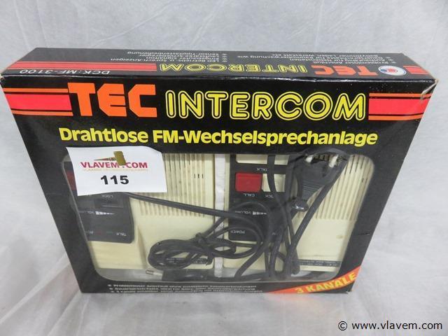 Tec intercom