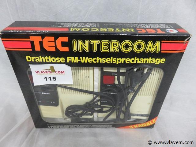 Tec intercom