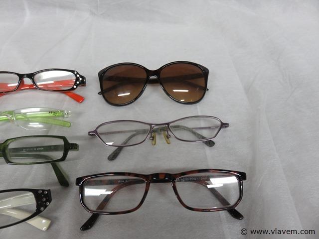 Partij brillen, 10 stuks