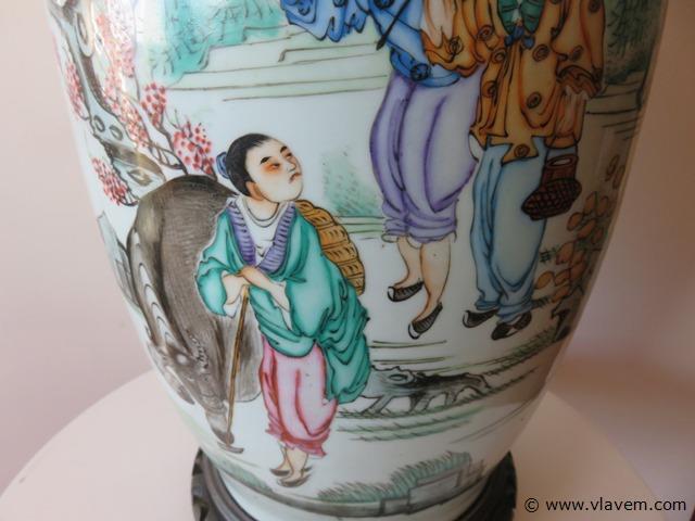 Antieke Chinese vaas, 60cm
