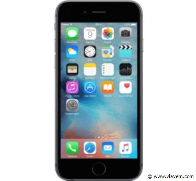 iphone 6s zwart 32gb