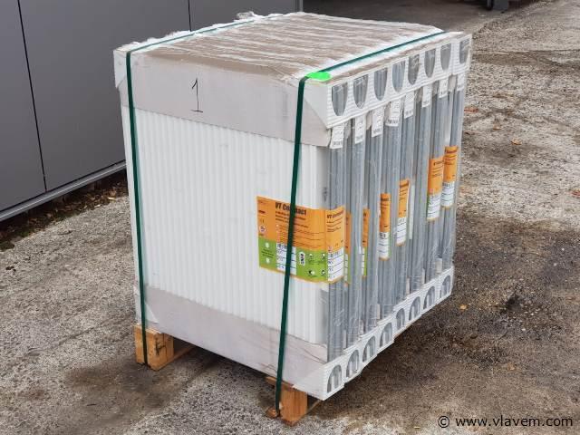 Paneel radiatoren, partij á 8 stuks