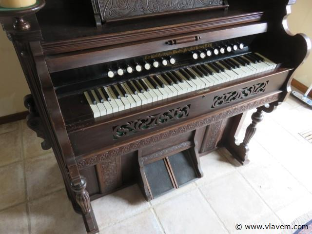 Antiek Harmonium C.Milson & Son, 19de eeuws