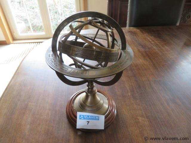 Decoratieve wereldbol