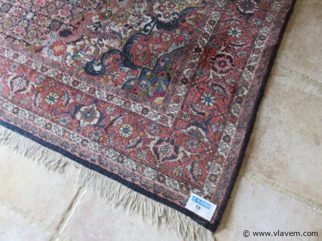 Oude tapijt 202x293cm