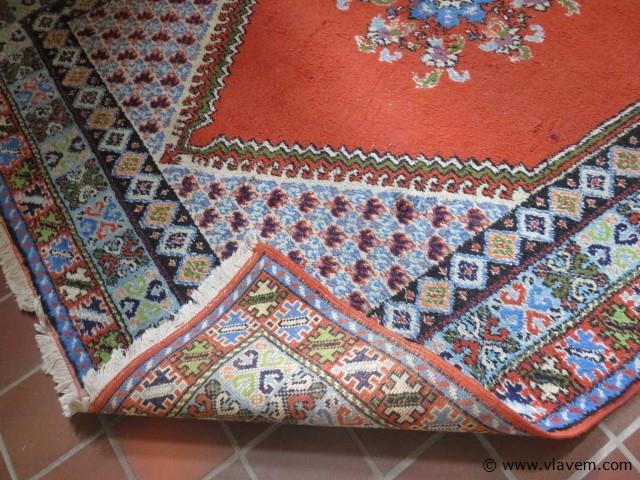 Oude tapijt 210x153cm