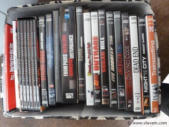 lot dvd's